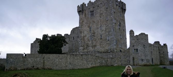 Ross Castle and National Park Killarney Ireland