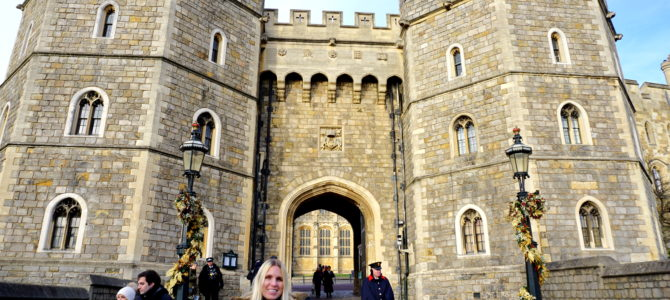A Dog Takes a Day Trip to Windsor Castle