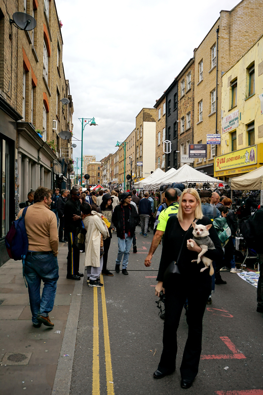 Brick Lane: Exploring Brick Lane With A Dog