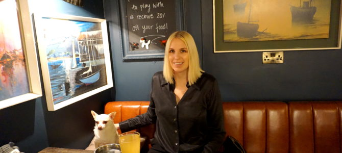 Bringing a Dog to Bars, Cafes, and Restaurants in England.
