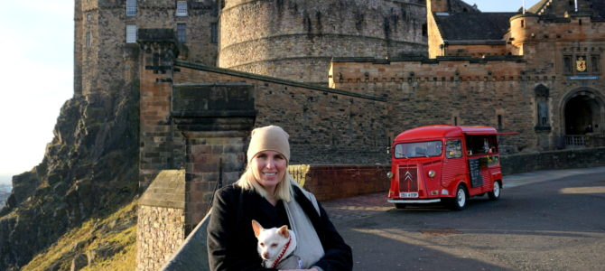 "Adventures in Edinburgh with a ""Wee"" Dug Part 1"