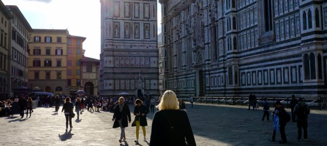 A Dog Travels to Florence, Italy Part 1